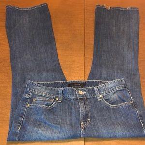 CALVIN KLEIN Flare Blue Denim Jeans Size 12